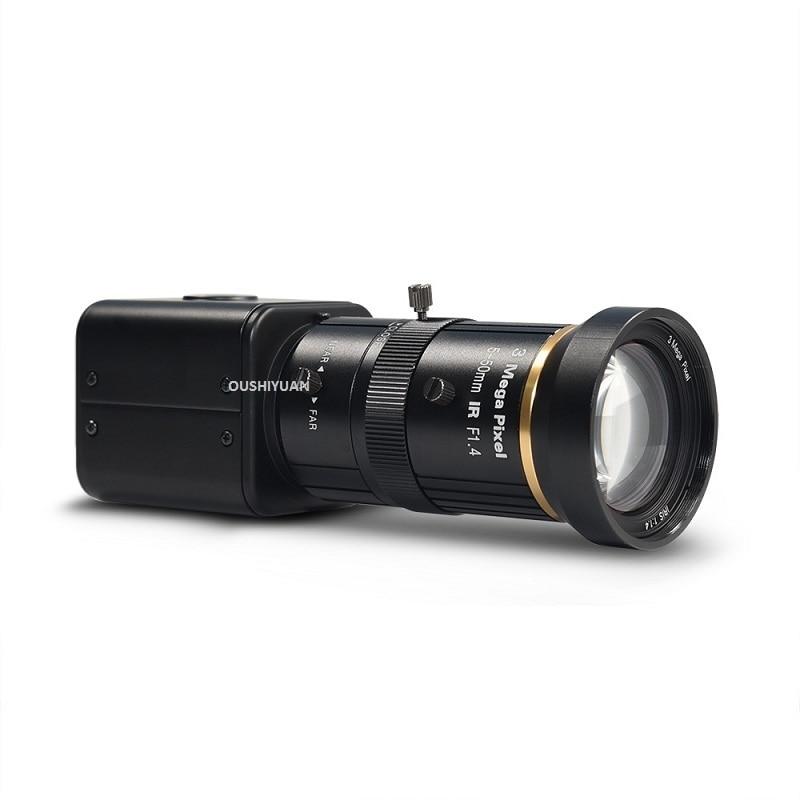 CCTV HD SDI 2 0MP 1080P Zoom Lens 5 50mm HD SDI Security Box SDI Camera