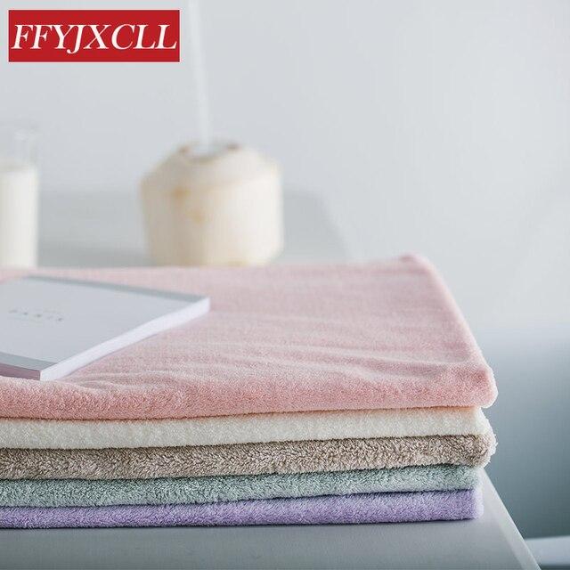 Di Colore solido 90*180 cm Quick Dry Grande 100% Da Bagno In Cotone Asciugamano