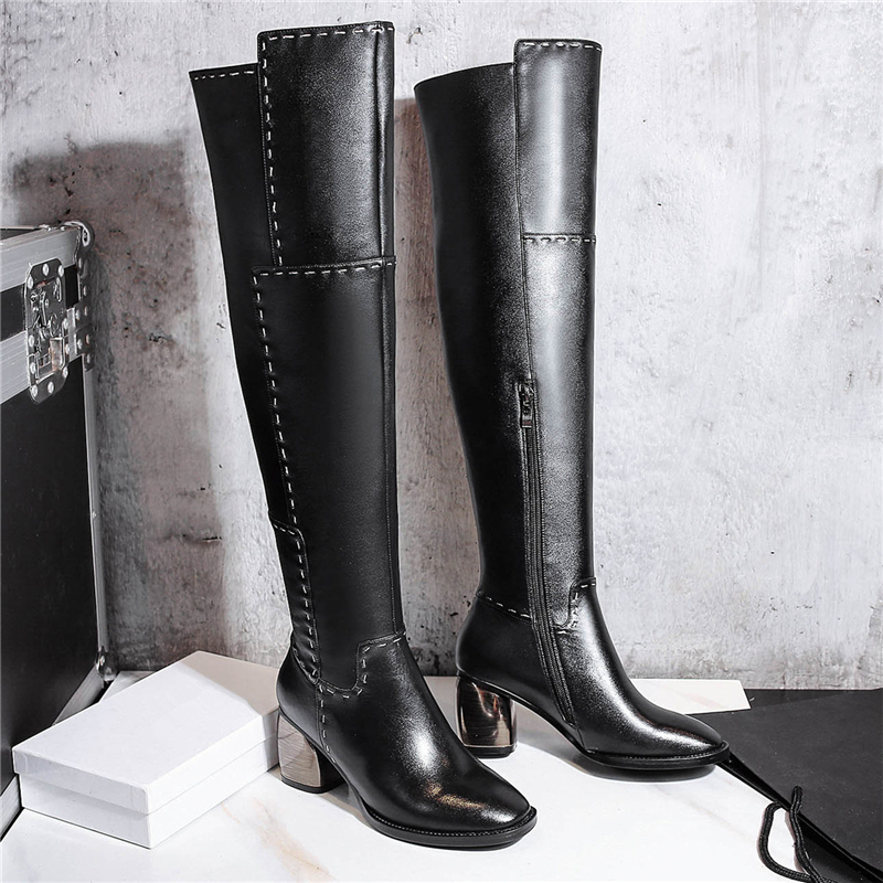 Online Get Cheap Leather Tall Boots -Aliexpress.com | Alibaba Group
