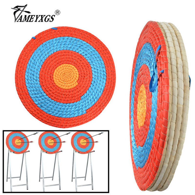 1pc Archery 55cm Target Grass Target Board Straw Arrow Darts Targets Props For Outdoor Sports Bow Hunting Shooting Accessories