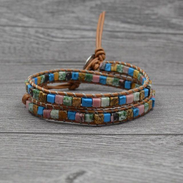 Boho Beaded Bracelet Women...