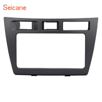 Seicane Double Din Car Radio Fascia DVD CD Panel Audio Player Trim Install Frame Dashboard For 2005 Toyota Mark II