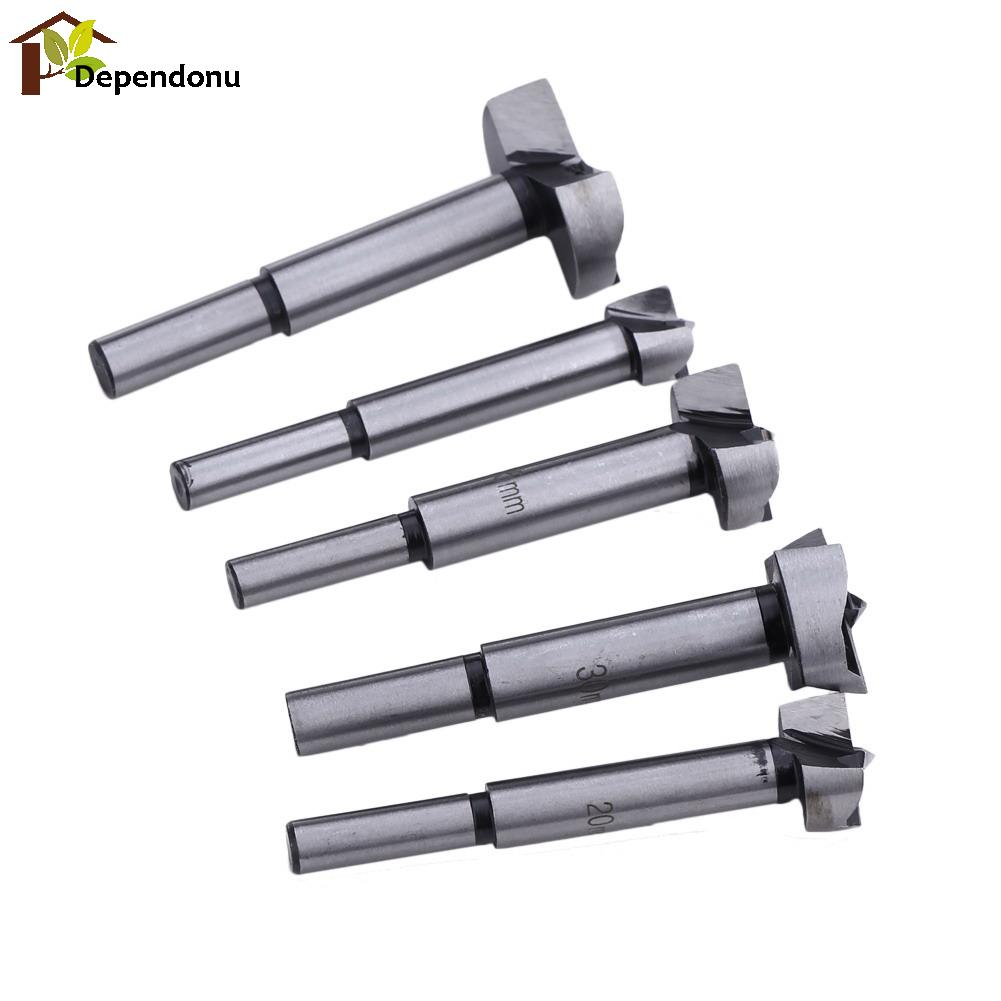 5pcs /set 85mm Forstner Wood Drill Bit Set 15/20/25/30/35mm Hole Saw Cutter Wood Tools with Round Shank 5pcs set 85mm forstner wood drill bit set 15 20 25 30 35mm hole saw cutter wood tools with round shank