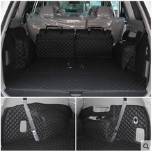 Top quality! Special trunk cargo mats for Mitsubishi Pajero Sport 7seats / 5seats 2014-2008 durable boot carpets,Free shipping