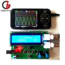 DDS функция генератор сигналов DIY комплект модуль синуса квадратный пилообразный треугольник волновой генератор 1602 цифровой ЖК-дисплей