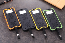 Solar Mobile Power Supply Hummer Big Land Rover Solar Camping Lamp 10000 Mah Rechargeable Mobile Power Supply Power Bank