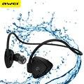 Awei a840bl impermeable sport auriculares inalámbricos bluetooth para auriculares con micrófono para xiaomi para iphone bluetooth v4.1 auricular estéreo