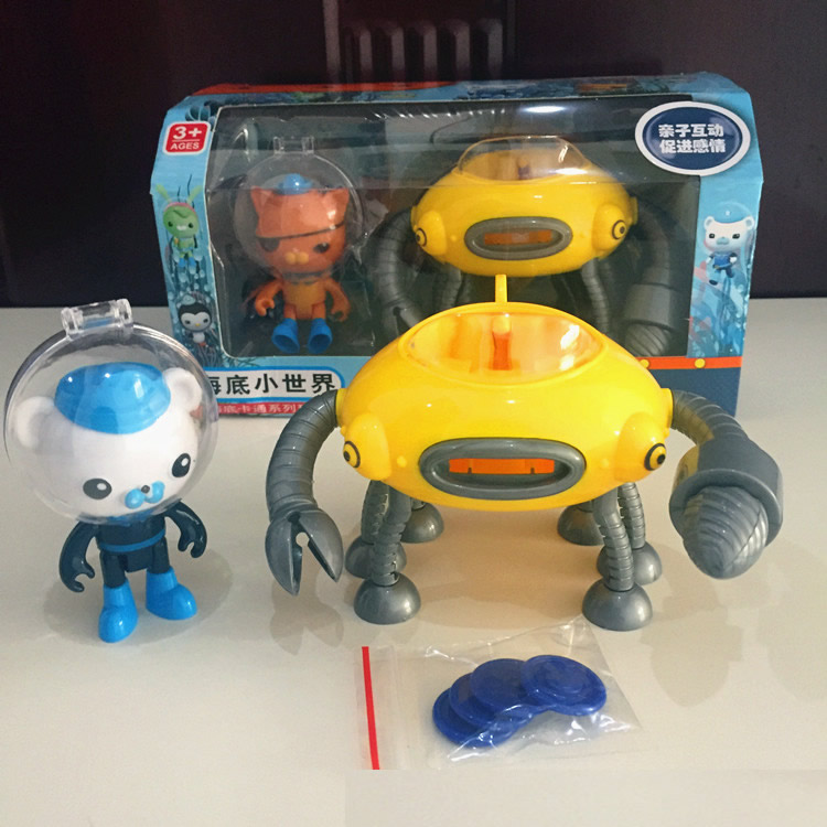 Able Octonauts Toys Submarines Gup-a Boats Whale Boat With Figures Captain Barnacles Kwazi Baby New Year Gift Action & Toy Figures