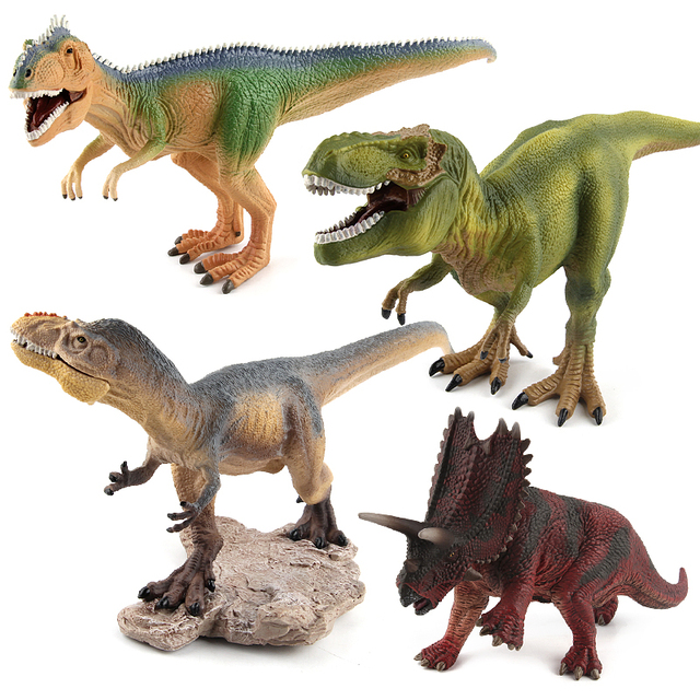 Jurassic world park tyrannosaurus rex yutyrannus giganotosaurus jurassic world park tyrannosaurus rex yutyrannus giganotosaurus dinosaur plastic funny toy pentaceratops model action figures thecheapjerseys Image collections