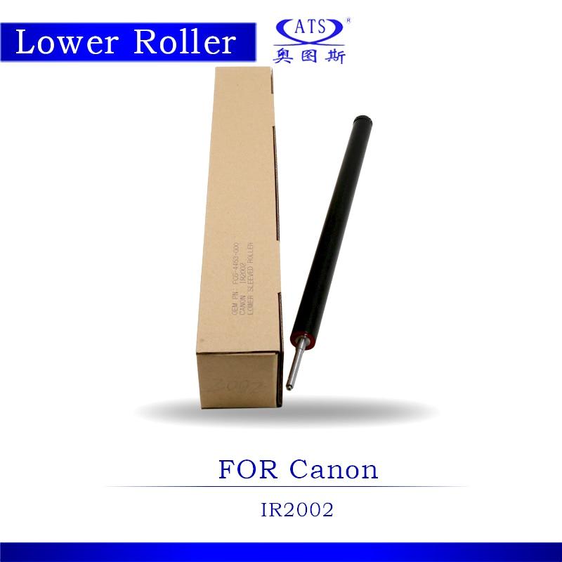 Pressure Roller IR2002 Photocopy Machine Lower Fuser Roller For IR 2002 Copier Spare Parts in stock 1pcs photocopy machine lower pressure fuser roller for canon ir2018 copier parts ir 2018