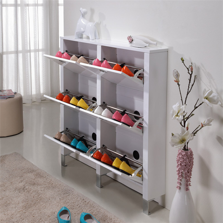 wholesale luxury large capacity shoe racks living room
