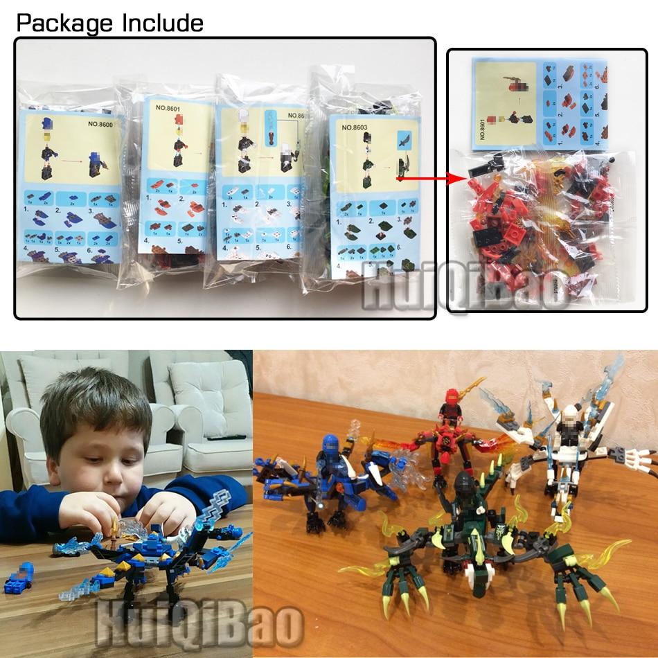 Blocos ninja mini figuras de ação Suit a Crowd : Toys For Kids Toys For Children
