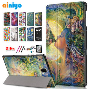 Image 1 - High quality PU  protective case For Samsung Galaxy Tab A 10.5 T590 T595 T597 SM T590 SM T595 Cover  +Screen Protector gifts