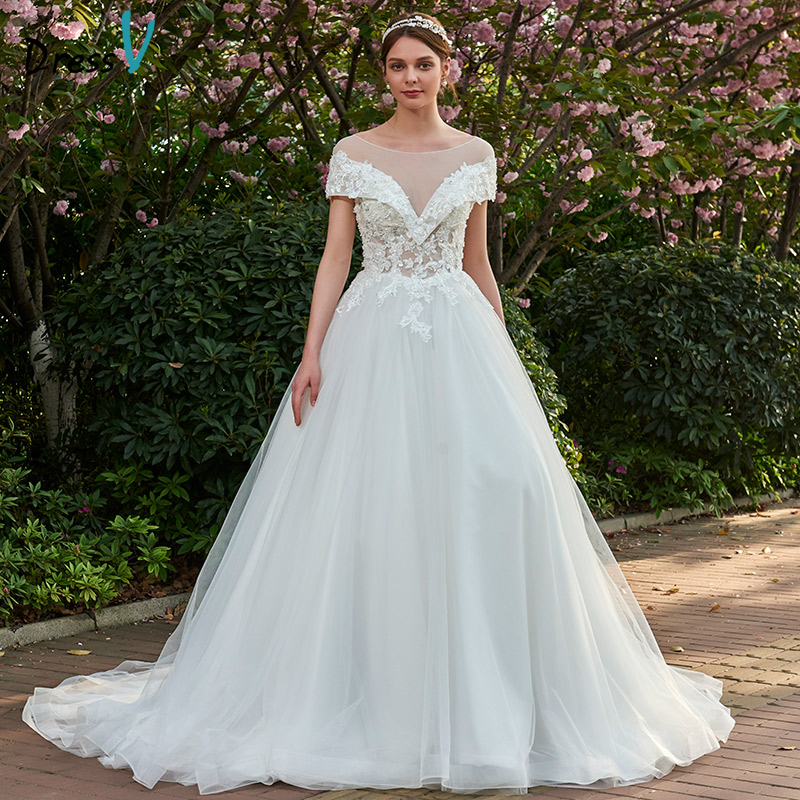 Dressv Ivory Wedding Dress Strapless Long Sleeves Chapel: Aliexpress.com : Buy Dressv Ivory Long Wedding Dresses