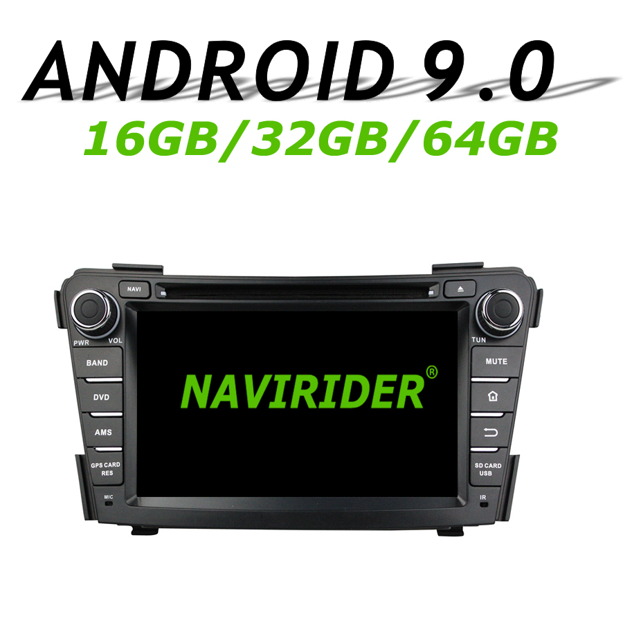 High configuration Octa Core Android 9.0 Car <font><b>GPS</b></font> Multimedia For <font><b>HYUNDAI</b></font> <font><b>I40</b></font> 2011-2014 Car Radio bluetooth 64GB large memory image
