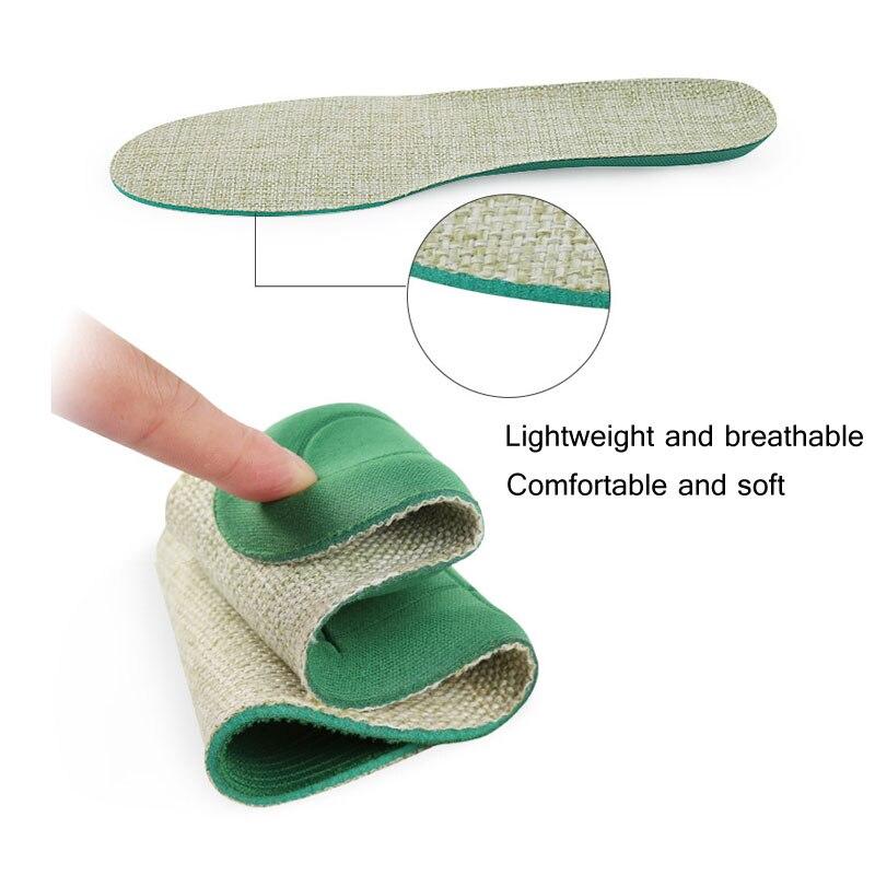 Tcare 1 пара унисекс дышащая поглощение пота ортопедические стельки мягкие удобные спортивные стельки шок военной подготовки обуви Pad
