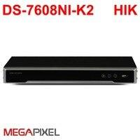 Hikvision CCTV видео регистраторы PoE NVR DVR ip камера К 4 к 8Mp HD сети видеокамера охранных системы скрытого видеонаблюдения DS 7608NI K2