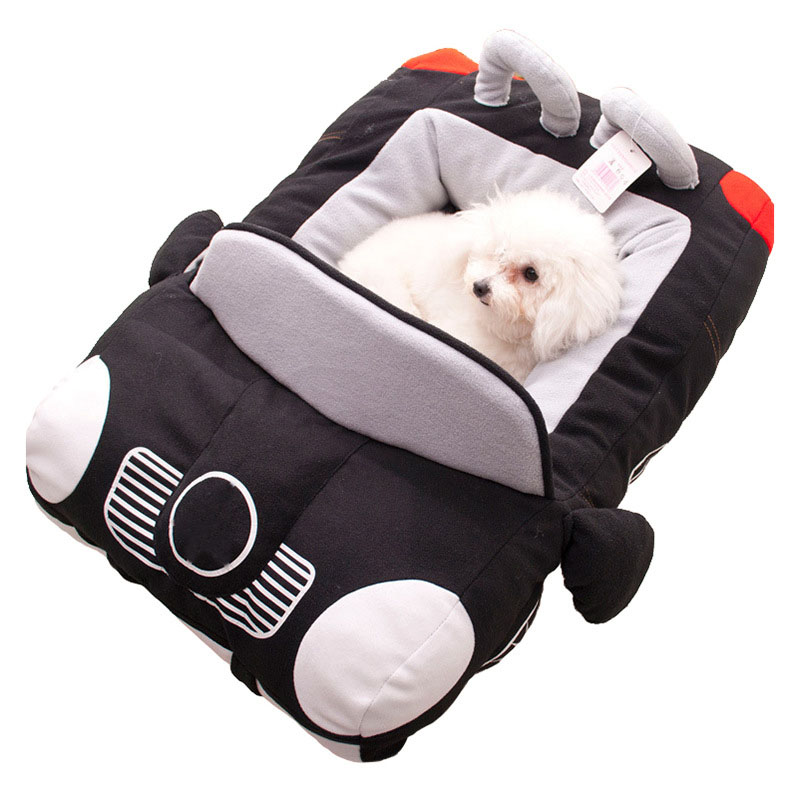 Puppy Pet Dog Bed for Small Dogs Fashion Car Shape Soft Material Durable Nest Dogs Cats