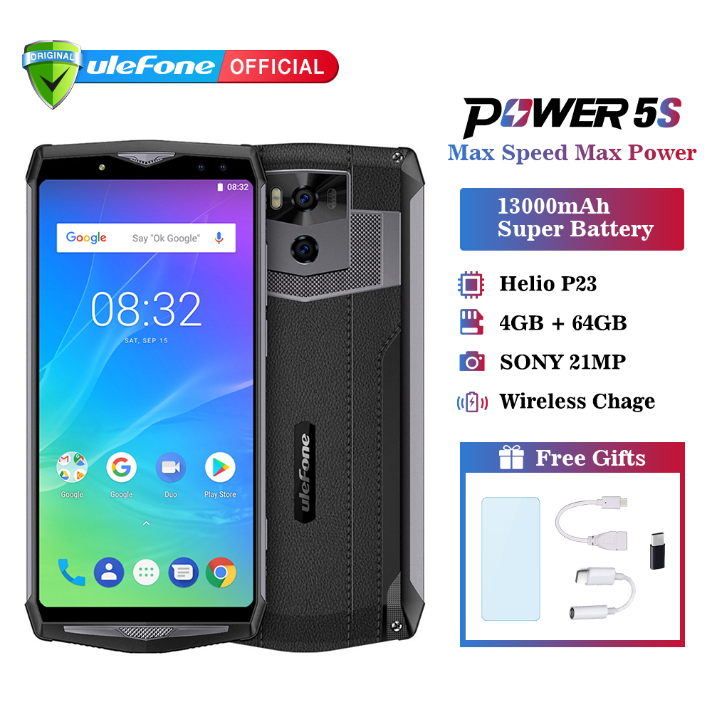 Téléphone portable Ulefone Power 5 s 13000 mAh Android 8.1 6.0