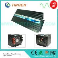 TEP 4000W 4kw dc to ac power inverter 12v 220v 12v 230v 24v 100v off grid tie invertor pure sine wave 50HZ