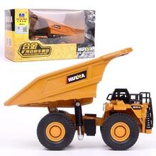 1/60 масштаб грузовик литой металлический автомобиль экскаватор Шахта самосвал экскаватор модель игрушки инженерный грузовик для детской коллекции