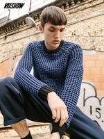 VIISHOW New Autumn Brand Clothing Men Sweaters Pullovers Knitting Fashion Acrylic Designer Sweater Casual Man Knitwear ZC08563