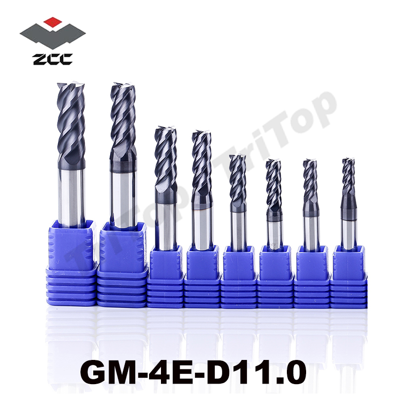 GM-4E-D11.0 cnc high speed profile milling cutter 4flute 11mm square head end mills fresas para madera end mill zcc ct printio чехол для iphone 6 plus глянцевый