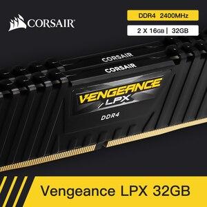 Image 5 - CORSAIR Vengeance RAM bellek LPX 4GB 8GB 16GB 32GB DDR4 PC4 2400Mhz 2666Mhz 3000Mhz 3200Mhz modülü bilgisayar masaüstü RAM bellek DIMM