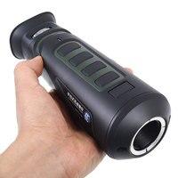 Hunting Handheld Thermal Imaging Optics Infrared Night Vision Scope Monocular With Hotspot Pursuit Range Finder Function