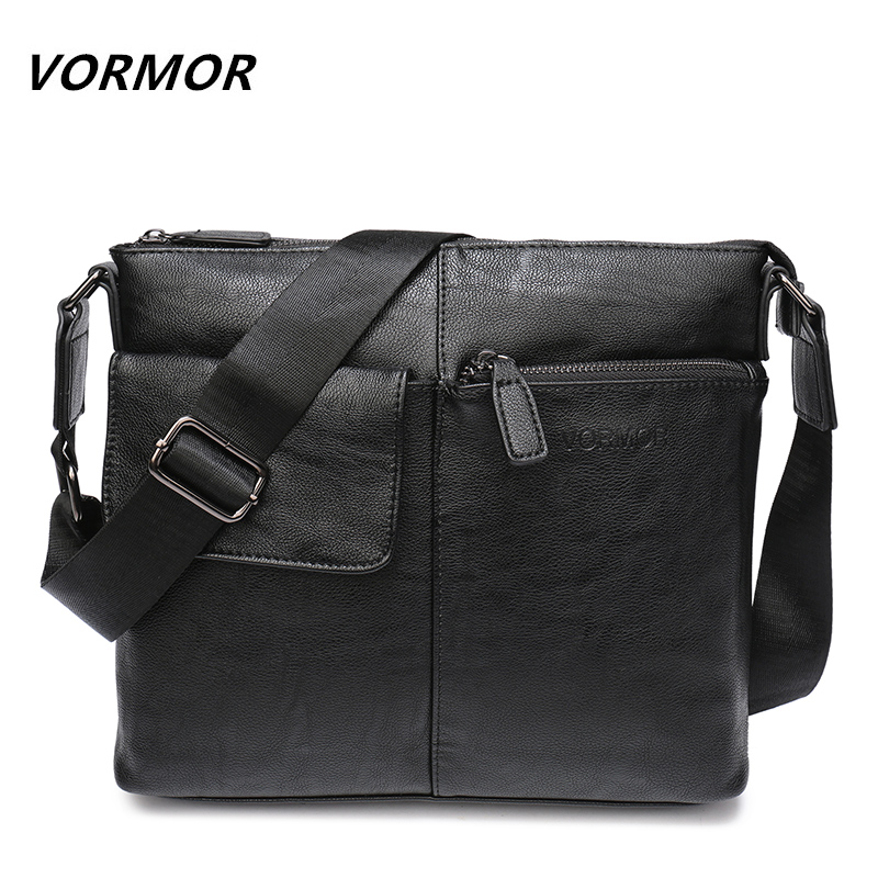 VORMOR Brand Messenger Bag Men Shoulder Bag Man Satchels Handbags PU Leather Sling Bags designer Men Crossbody Bags male casual messenger bag men shoulder bag man satchels handbags pu leather sling bag designer men crossbody travel bags li 1948