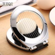 JueQi слайсер для яиц, инструмент для яиц, сверхмощный слайсер для клубники, фруктов, гарнир, проволока из нержавеющей стали с 3 стилями для нарезки