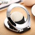 JueQi овощерезка  инструмент для яиц сверхмощный слайсер для клубники фруктовый гарнир слайсер  проволока из нержавеющей стали с 3 стилями нар...