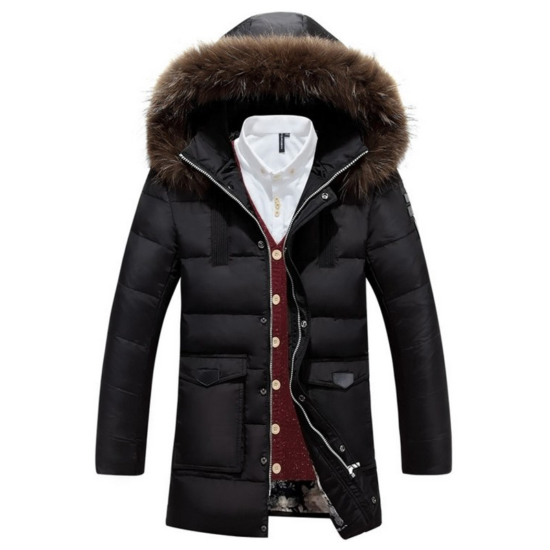 mens parka with fur hood page 8 - burberry