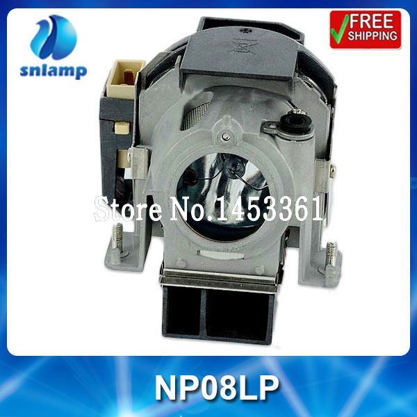 ФОТО Hot sale cheap compatible projector lamp bulb NP08LP for  NP41 NP52 NP43 NP43G NP54