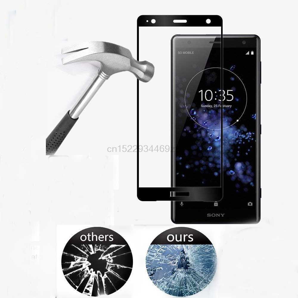 Full Tempered Glass For Sony Xperia XZ2 Screen Protector Sony Xperia XZ2 H8216 H8266 H8296 Glass Full Cover Flim For Sony XZ2