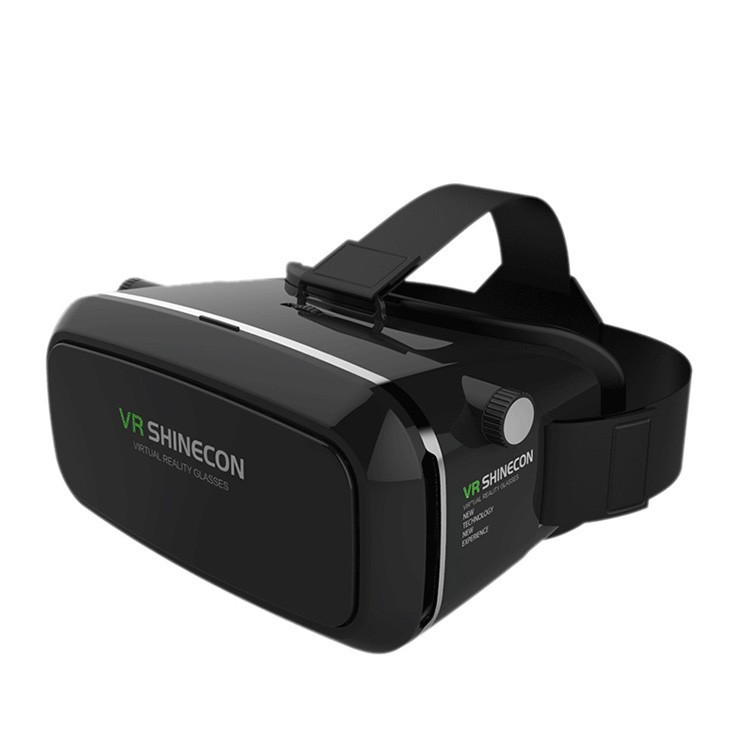 100 original font b VR b font SHINECON Virtual Reality 3D Glasses Helmet font b VR