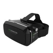 100%เดิมVR SHINECONความจริงเสมือนแว่นตา3Dหมวกกันน็อคVRกล่องชุดหูฟังสำหรับมาร์ทโฟน3.5นิ้ว~ 6นิ้วสำหรับA NdroidและIOS