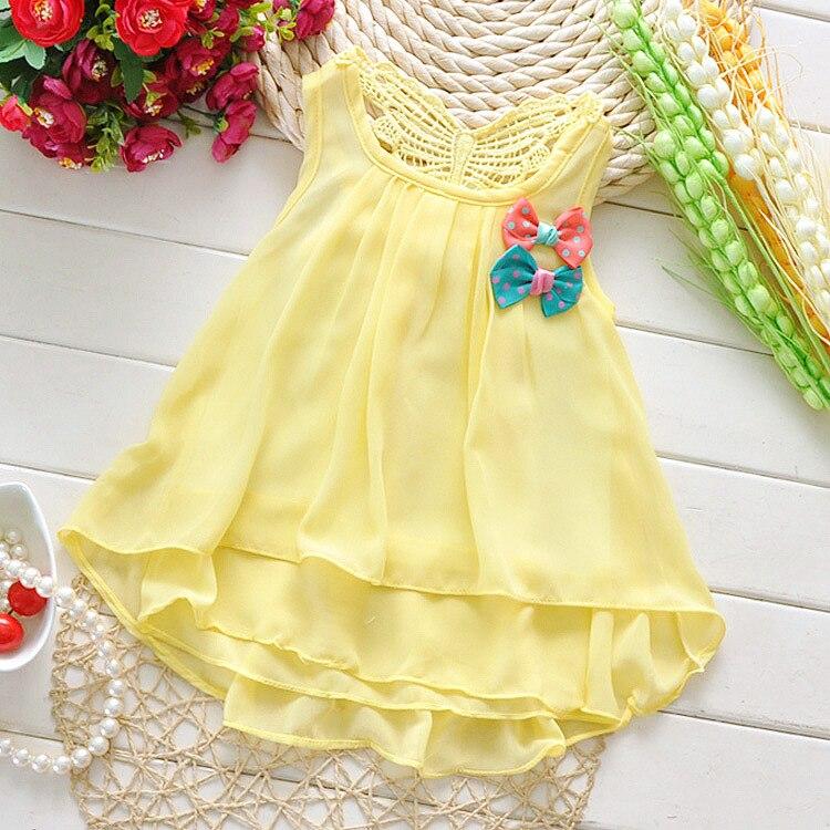 ae26f63f2cd Baby Layette Baby Girl Sun Dresses Baby Girl Yellow Dress