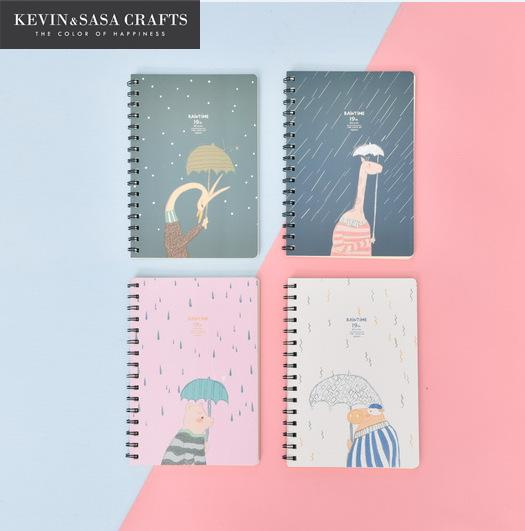 Notebook Cute Inner 72 Sheets 2017 Planner Sketchbook Diary Note Book Kawaii Journal Stationery School Supplies Study