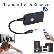 Mini 2 En 1 Sans Fil Bluetooth Transmetteur 3.5mm Émetteur Récepteur A2DP Audio Musique Stéréo Atpx Adaptateur Pour TV Mp3 Mp4 PC