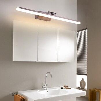 Светодиодная зеркальная передняя лампа 16 Вт 20 Вт Настенный светильник Регулируемая голова ванная комната макияж комната dressingroom настенный ...