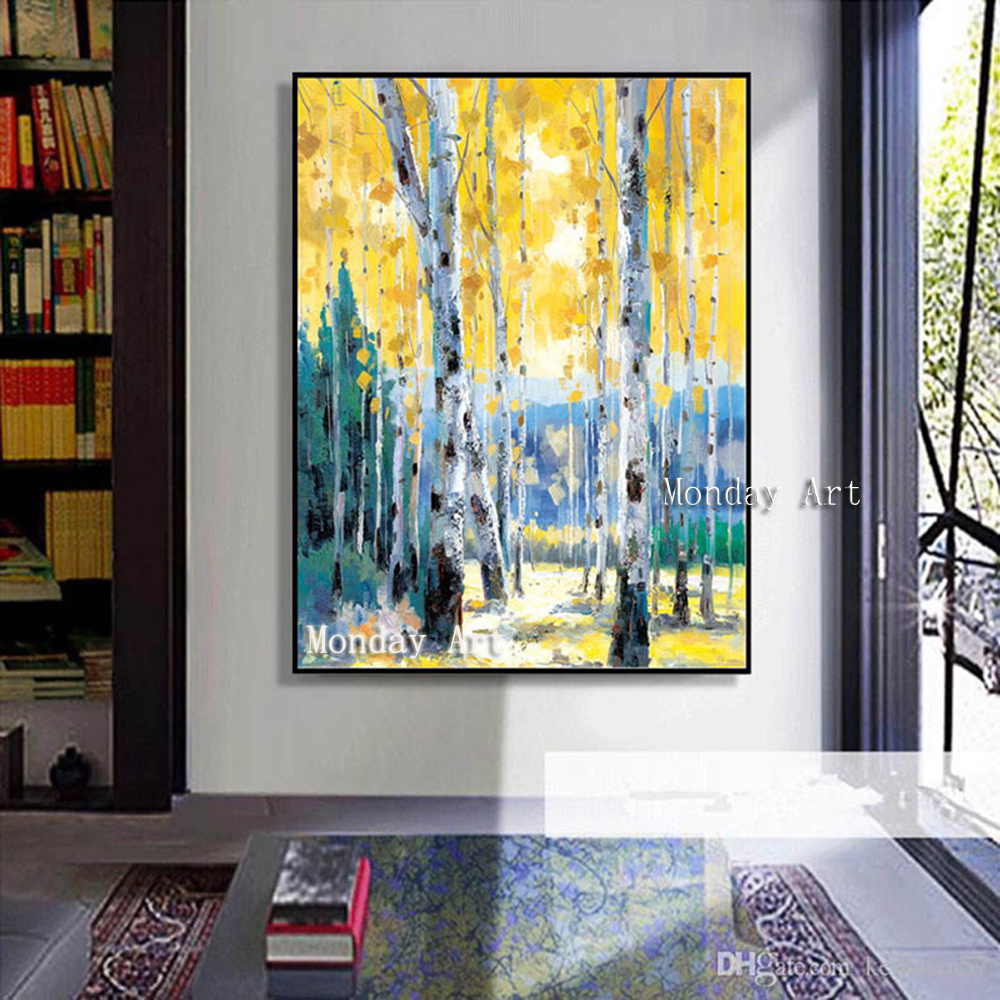 100-Hand-painted-Modern-scenery-Art-Oil-Painting-On-Canvas-Wall-Art-Wall-Adornment-pictures-Paintin1g
