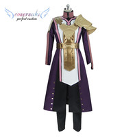 Fire Emblem Echoes: Shadows of Valentia Leon Cosplay Costumes Stage Performence Clothes , Perfect Custom for You !
