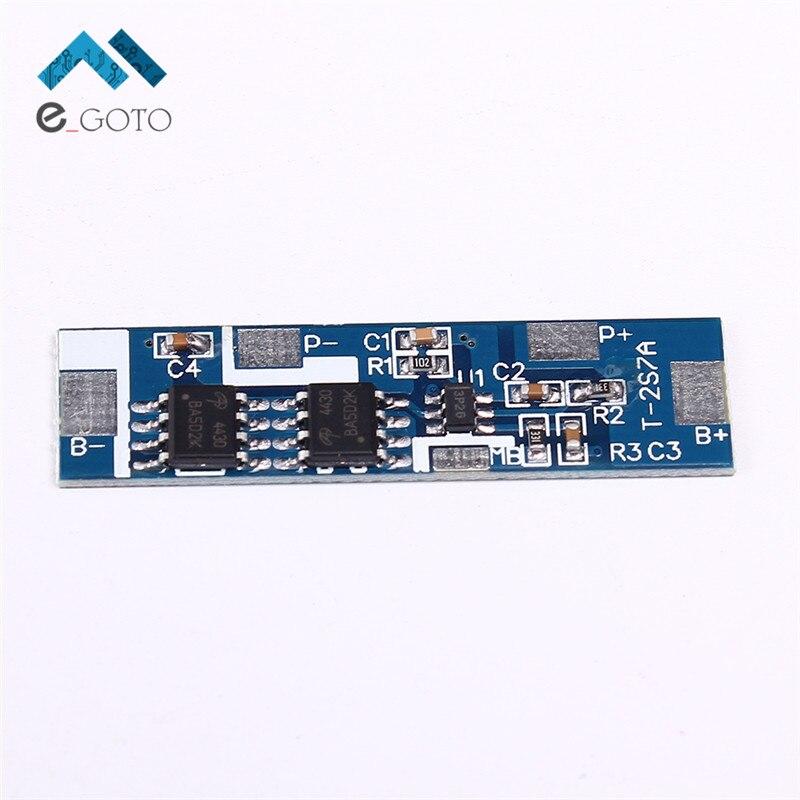 2 S 6.4 В 7a литий-ионный фосфат Батарея защиты доска 2 пачки литий-ионный lipo Батарея ячейки высокий ток модуль bms печатной полимера