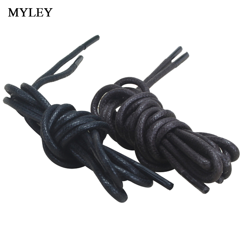 2 Pair High Quality 60cm Length Men Women Leather Shoes Shoelace Laces Round Shape Fine Rope Black Shoelace2 Pair High Quality 60cm Length Men Women Leather Shoes Shoelace Laces Round Shape Fine Rope Black Shoelace