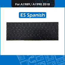 New ES Spanis Layout Keyboard for Macbook Pro Retina 13″ 15″ A1989 A1990 Spain Keyboard Replacement 2018 MR9Q2 MR932 MR942