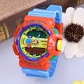 2016 Nuevo Reloj Digital S Choque Army Men Relojes de Pulsera Resistente Al Agua Fecha Calendario LED Relojes Deportivos Relogio masculino OP001