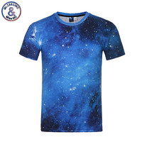 Mr 1991INC Space Galaxy T Shirt For Men Women 3d T Shirt Funny Print Cat Horse