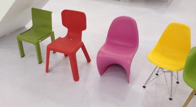 Plastic Stoel Kind : Moderne classic kids plastic stapelbare stoel baby stack plastic