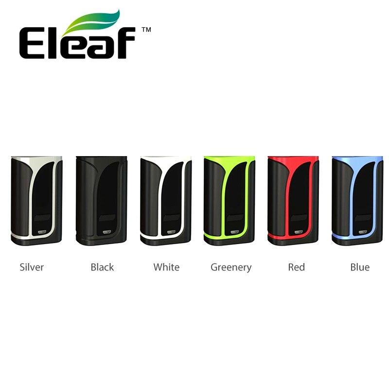 Originale Eleaf IKuun i200/iKuu I200 TC Box MOD w/Built-In 4600 mAh cellulare e 0.96-pollici Display Max 200 W di Uscita Enorme Potere Vape Mod